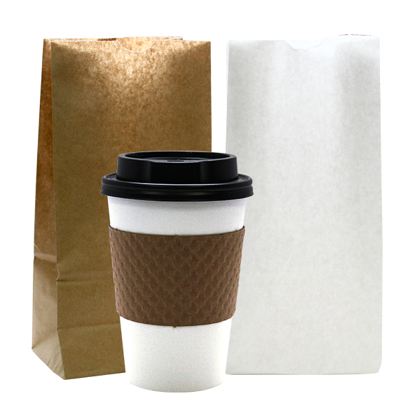 Aspen Coffee Cups with Sleeves